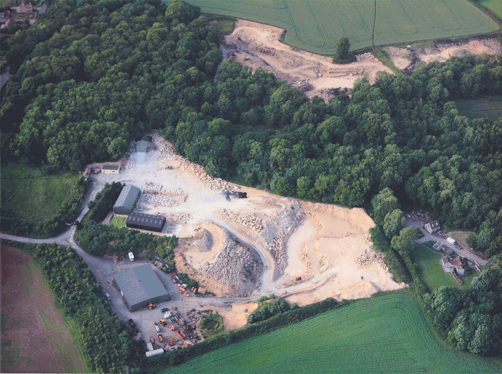 Overhead Quarry Picture