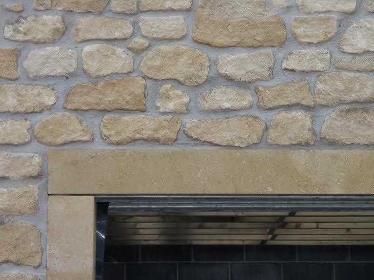 Brick work & archway