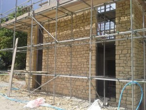 Building pic scaffold